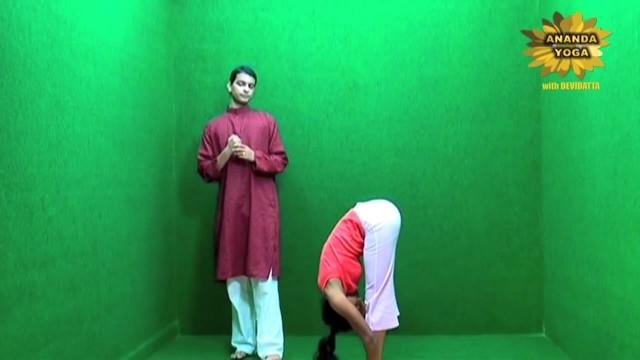 yoga for beginners standing forward bend 13