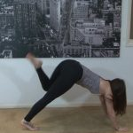 yoga for beginners sun salutation b with chair pose 25
