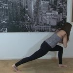 yoga for beginners sun salutation b with chair pose 26