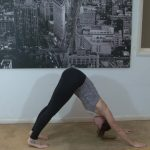 yoga for beginners sun salutation b with chair pose 37