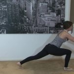 yoga for beginners sun salutation b with chair pose 38