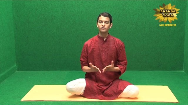 yoga for face simha mudra 07