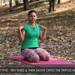 yoga poses tripod headstand workout tutorial i 4 11