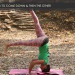 yoga poses tripod headstand workout tutorial i 4 18