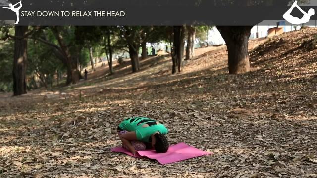 yoga poses tripod headstand workout tutorial i 4 19