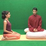 yoga to calm your brain and heart with props 08