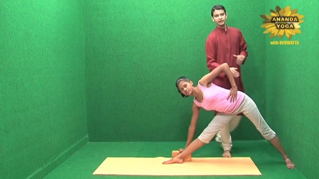 yoga with props for the flexibility of the spine 13