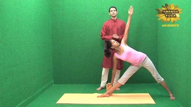 yoga with props for the flexibility of the spine 18
