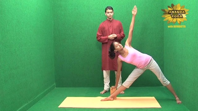 yoga with props for the flexibility of the spine 19