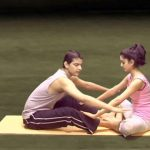 yoga workout for couples 10