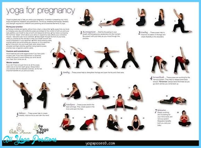 Yoga poses in pregnancy - YogaPoses8.com ®