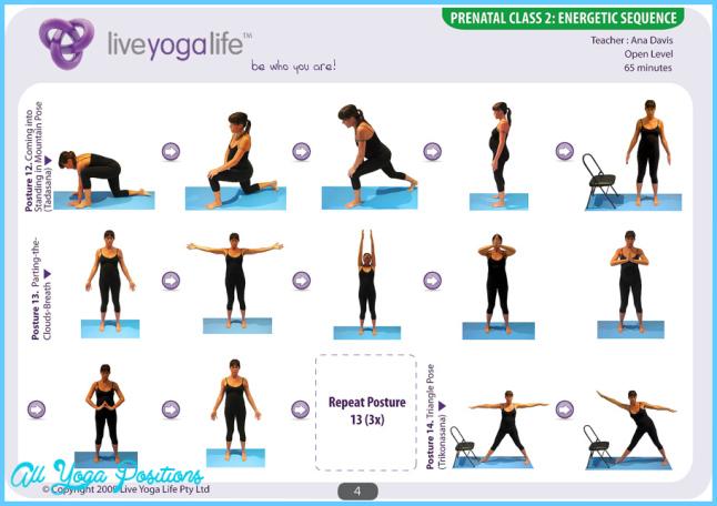 Prenatal Yoga Program Class 2 | Live Yoga Life
