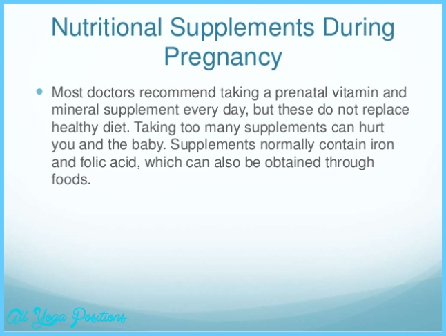 Nutrition during pregnancy presentation