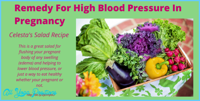 Salad Recipe For High Blood Pressure In Pregnancy