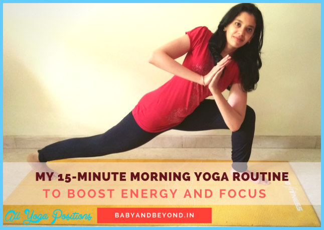 My 15-Minute Morning Yoga Routine to Boost Energy and Focus ...