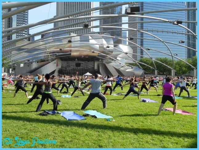 The Best Outdoor Fitness Classes in Chicago