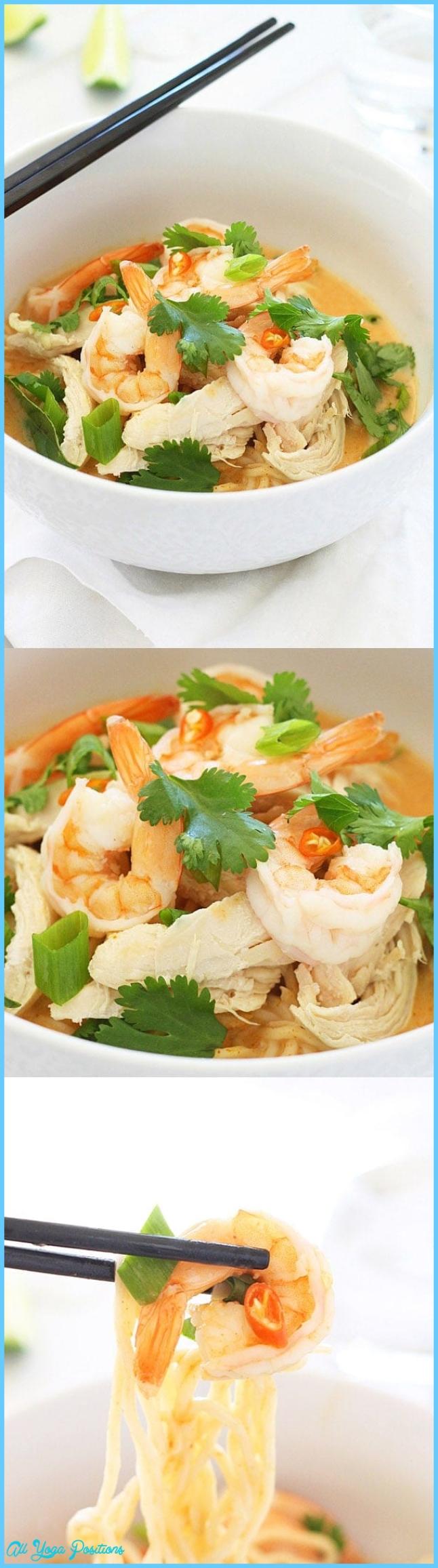Coconut Curry Noodle Bowl   Easy Delicious Recipes