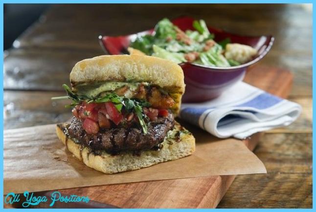 The Italian Burger - Picture of Scaddabush Italian Kitchen & Bar