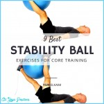 The  Stability Ball Exercises For Core Training