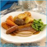 Mini Roast Turkey Dinner Ready Meal | Oakhouse Foods