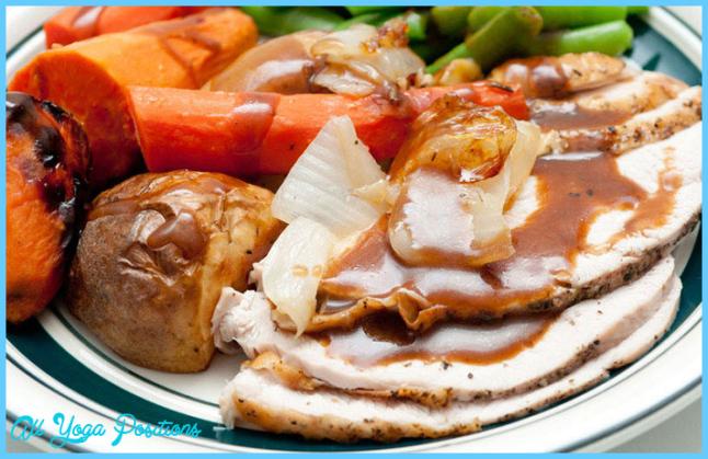 Sunday – Roasted Turkey Dinner