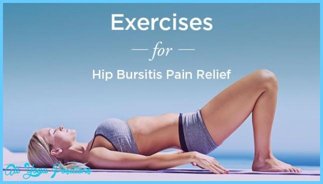 Bursitis Hip Exercises: For Pain Relief