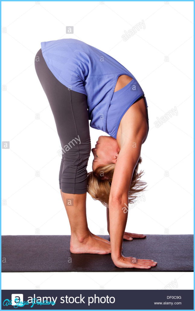 Standing Hamstring Stretch Stock Photos & Standing Hamstring Stretch