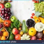 Healthy eating, summer fruits vegetables berries, cherries peaches