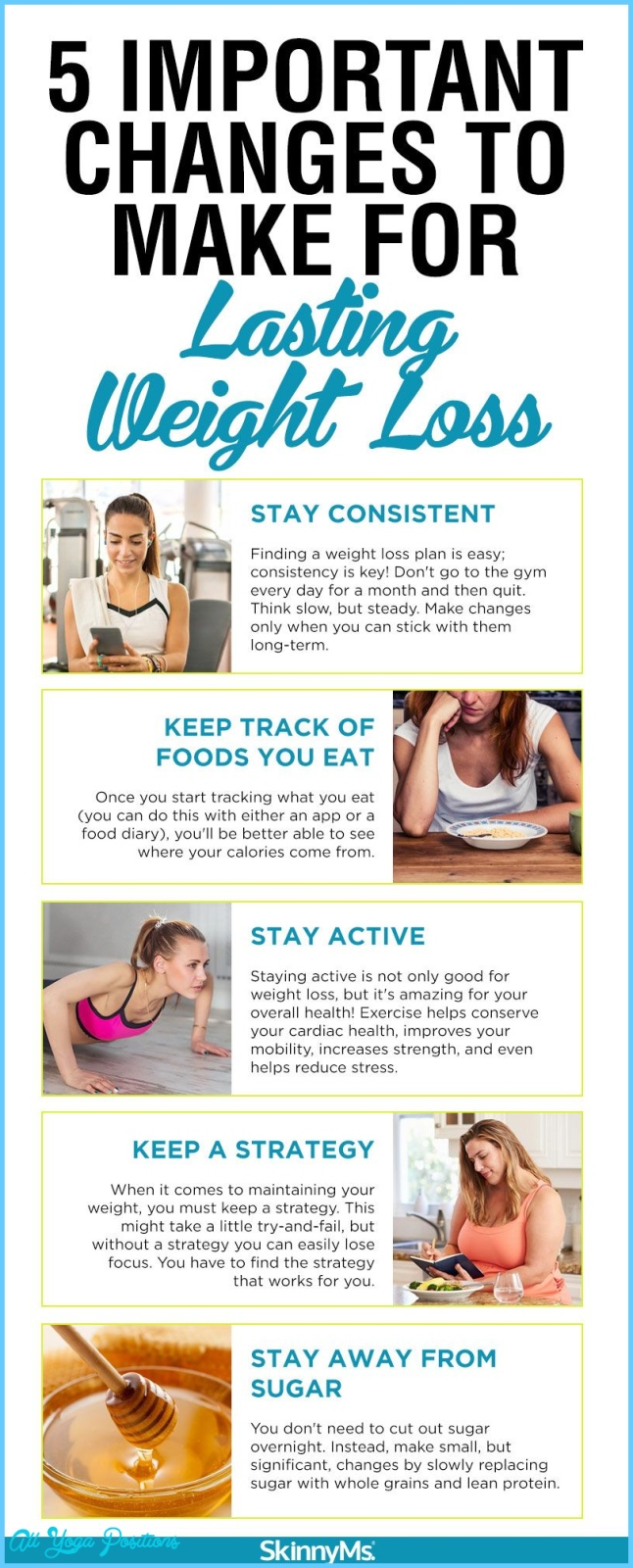 Important Changes to Make for Lasting Weight Loss