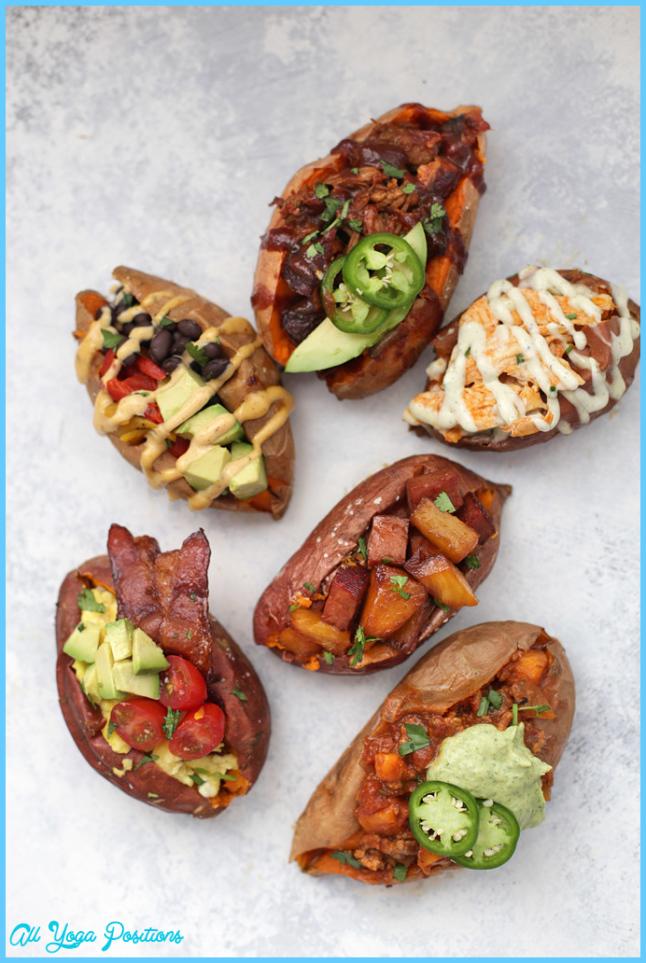 Amazing Ways to Stuff a Baked Sweet Potato • One Lovely Life