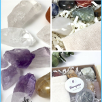 Beginner Crystal Starter Kit. Witchy Gift. Crystal Healing Stone