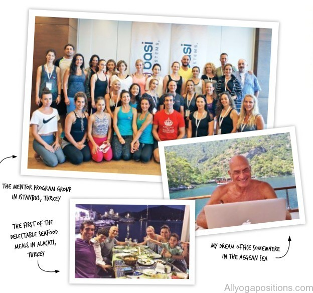 rael isacowitz the founder of global brand basi pilates gives us a behind the scenes glimpse into his extraordinary summer 2