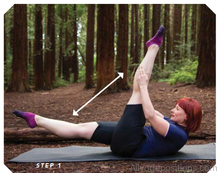 Yoga Obliques Roll Back Exercise