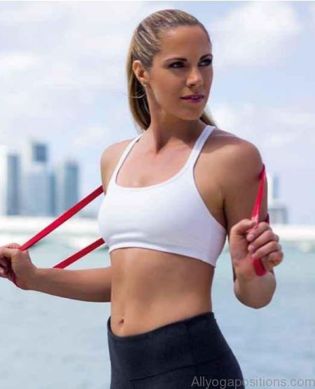resistance band benefits social fitness and trimmer tums