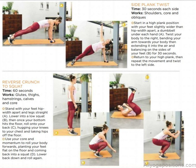 beginners full body yoga workout with dumbbells1