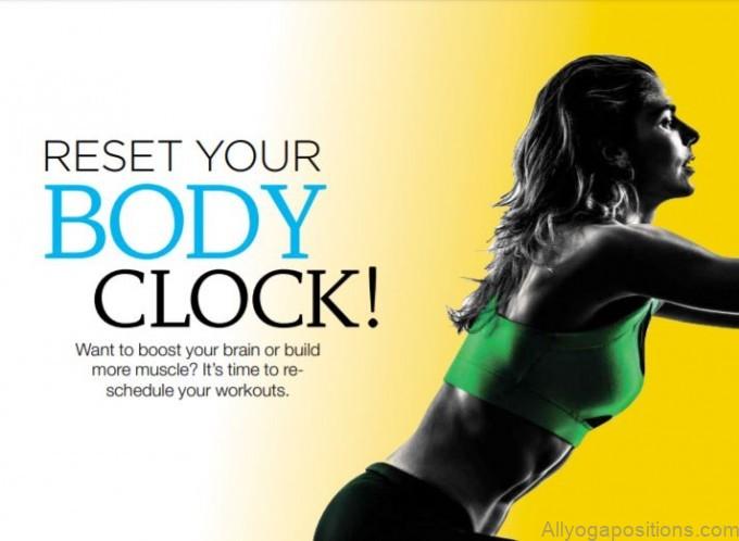 reset your body clock