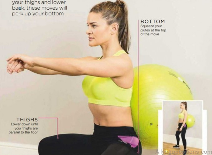 as well as working your thighs and lower back these moves will perk up your bottom