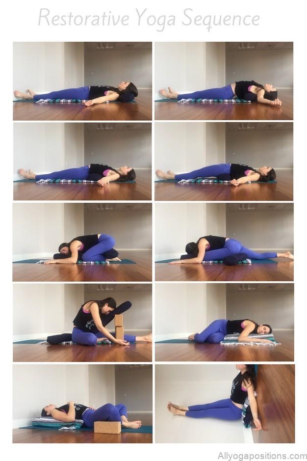 10 best restorative yoga poses