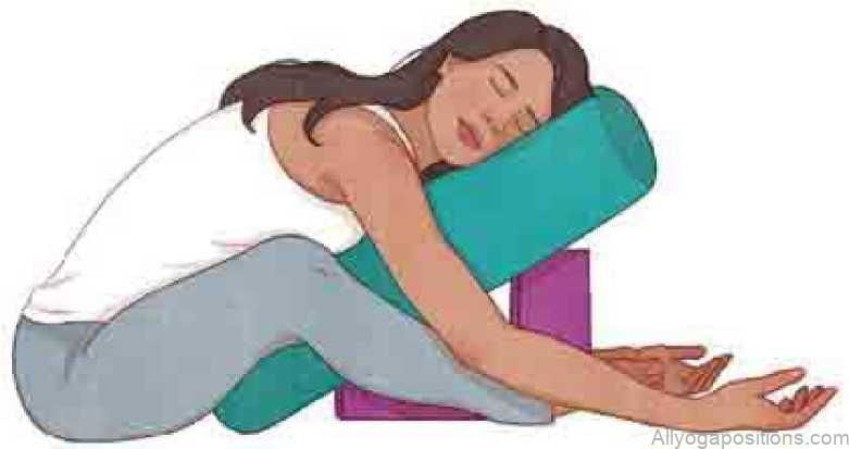 Sciatica S.O.S Side Lying Pose Yoga Pose