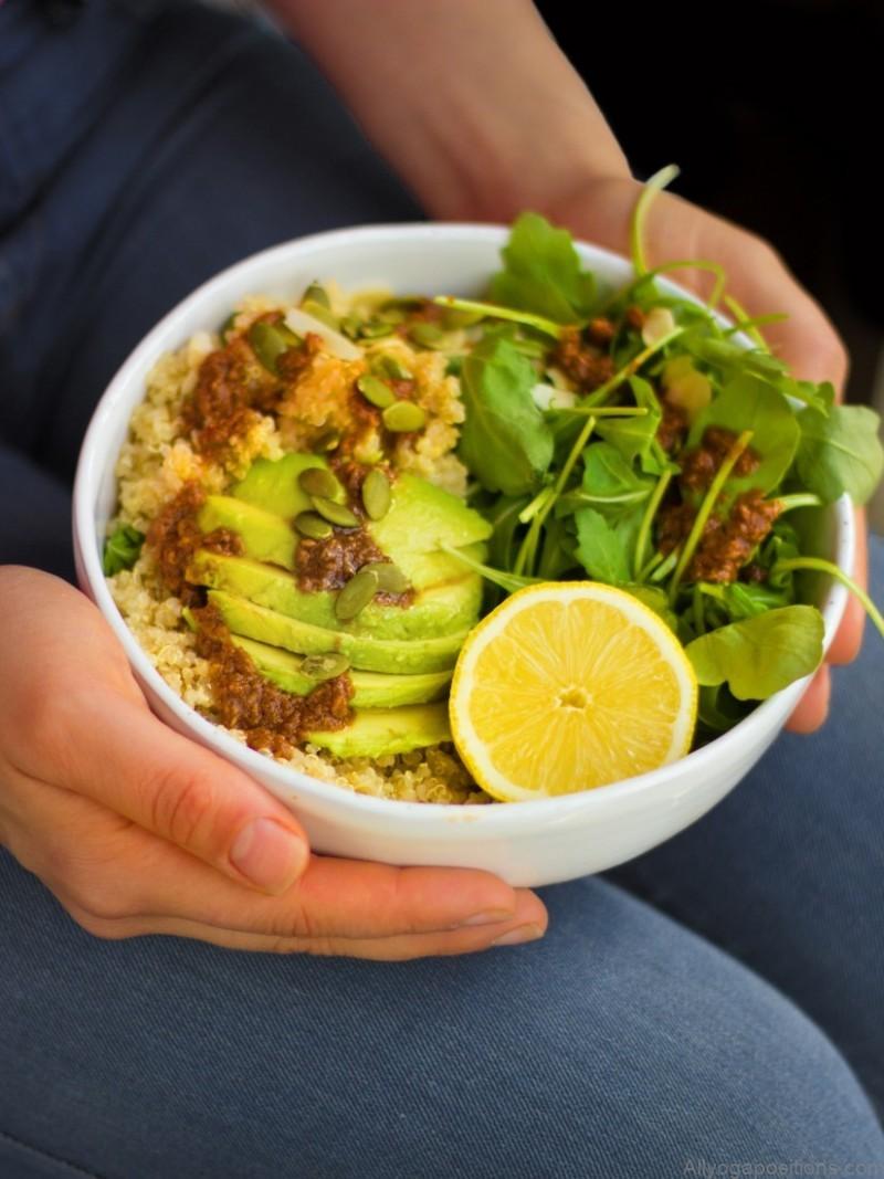 deflate stress calm food